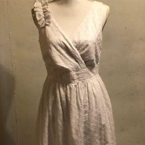 White dress barn dress